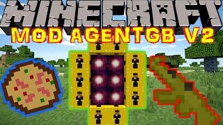 UNE DIMENSION AGENTGB ET DES PIZZAS !! - MOD AGENTGB Minecraft [FR] [HD]