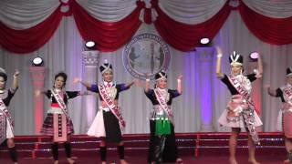 Fresno Hmong International New Year 2017: Pagaent Group Dance