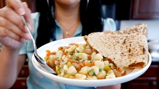 Quick &amp Easy Hominy Guisado Stew  Meatless Mexican Recipes  My Kids  this Recipe