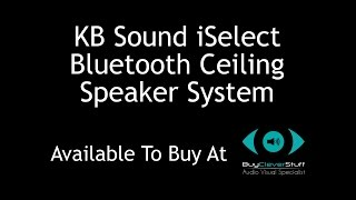 KB Sound iSelect Ceiling Speaker System with Radio Tuner