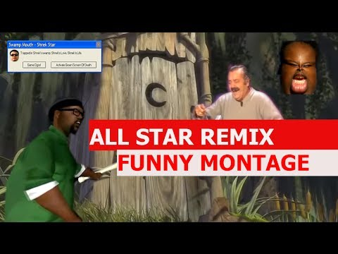 Smash Mouth - All Star Remix - FUNNY MONTAGE