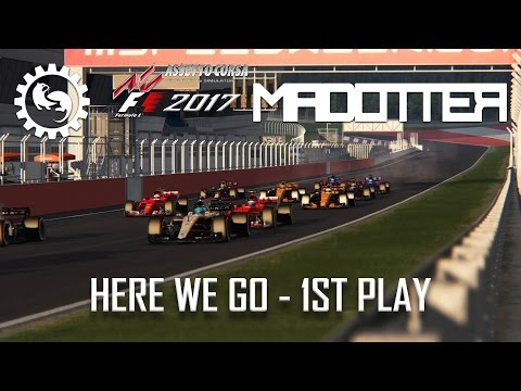 F1 2017 - Assetto Corsa RSS - Gameplay with 6 Teams! T-Cam + TV Cameras!