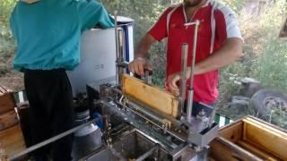 Распечатка рамок механический нож Распечатыватель пчелиных сот РРП-1