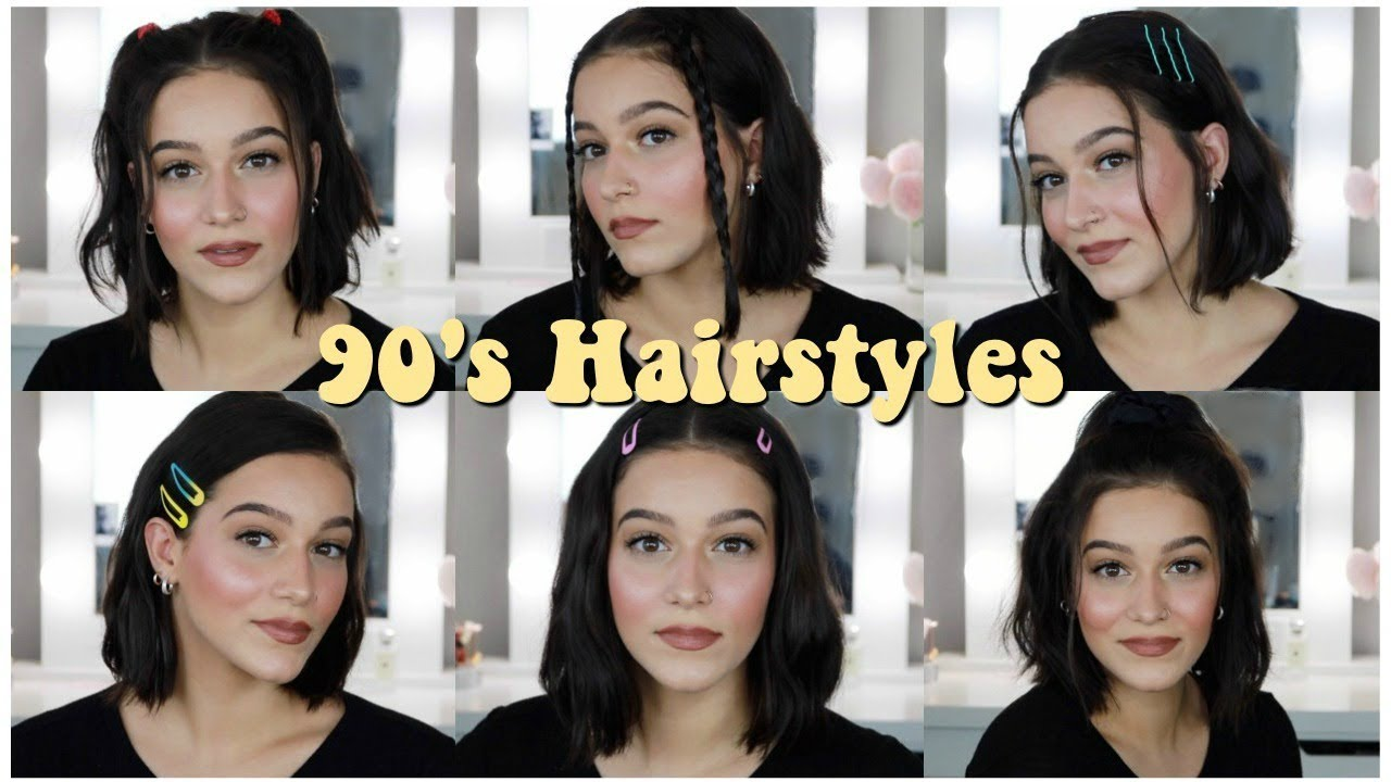 Easy 90 S Inspired Hairstyles For Short Hair