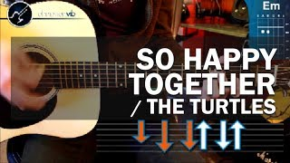 """Cómo tocar """"So Happy Together"""" en guitarra acústica (HD) Tutorial - Christianvib"""