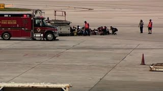 Chaotic scene after Florida airport shooting