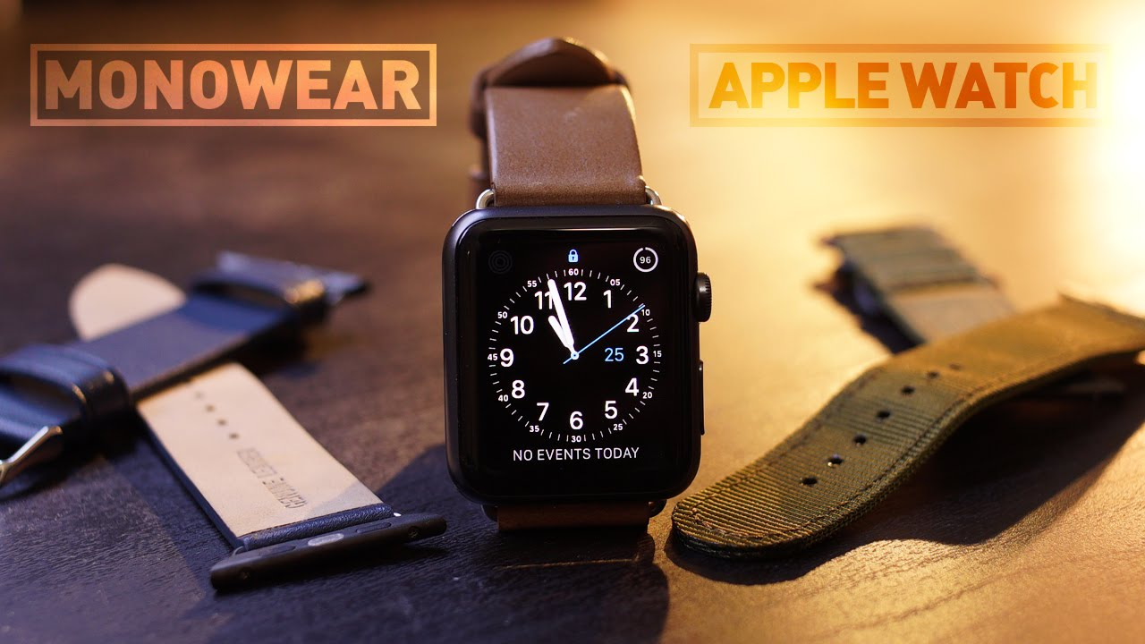 FOHUAS Series 2 1 Genuine Leather Loop For Apple Watch