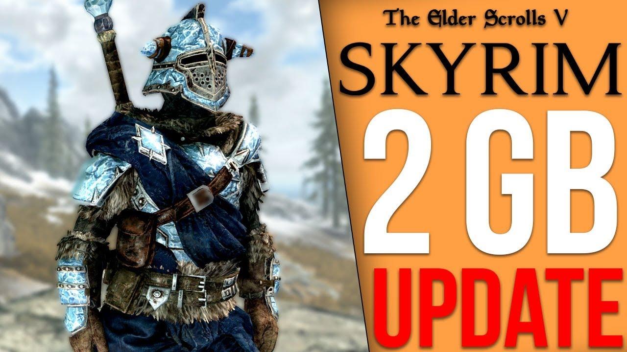 Skyrim Got a 2GB Update thumbnail