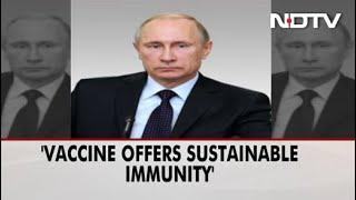 "Russia Claims 1st Covid Vaccine ""Sputnik V""; Putin's Daughter Inoculated"