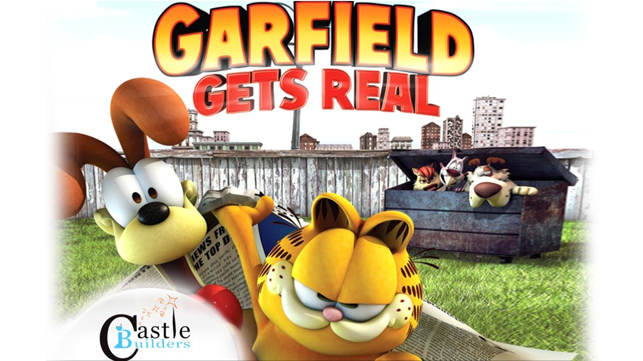 garfield gets real booclips movie storybook deluxe app by