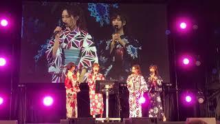 2018/08/12 山本彩、吉田朱里、古賀成美、加藤夕夏 スペシャルステージ0...