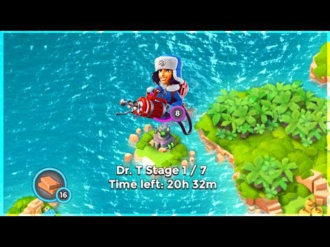 Boom Beach ALL CRYONEERS vs Dr T!! Cryoneer Mania Gameplay!