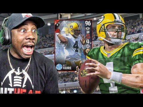 96 BRETT FAVRE IS A GUNSLINGER! Madden 17 Ultimate Team Gameplay Ep. 18