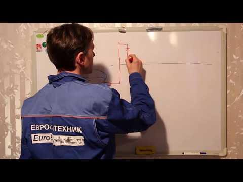 21 Схема рециркуляции горячего водоснабжения