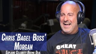 Bagel Boss Explains Celebrity Boxing Deal - Jim Norton & Sam Roberts