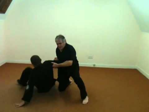 Jim Boylan kenpo right punch
