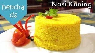 Nasi Kuning - Resep Nasi Kuning (Cara Membuat Nasi Kuning)
