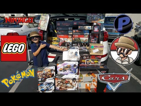 Buying a Car Full Of TOYS From CARLS NEW SHOP!!! SHOPPING For The BIGGEST LEGO & CARS HAUL EVER!!!
