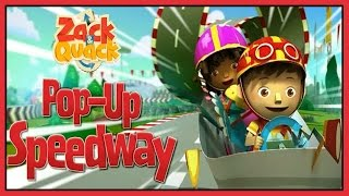 Zack and Quack Pop Up Speedway Full Game - Episode 1 in HD for Kids