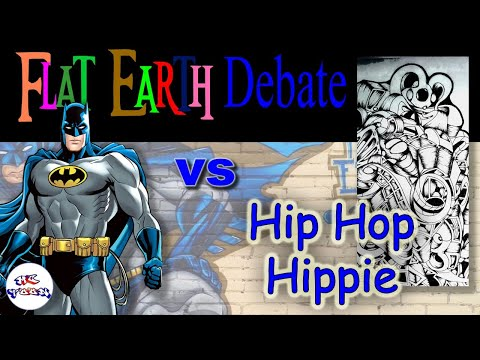 Hip Hop Hippie makes an appearance to debate flat earth thumbnail