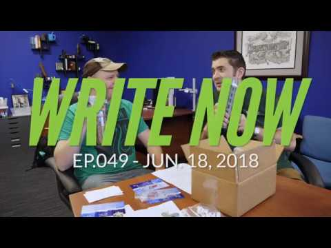 Write Now - Ep.049: Packing & Shipping Orders with Adam