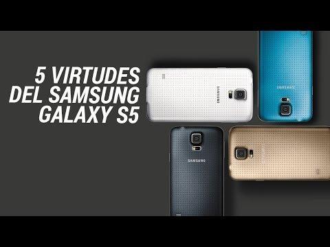 5 virtudes del Samsung Galaxy S5
