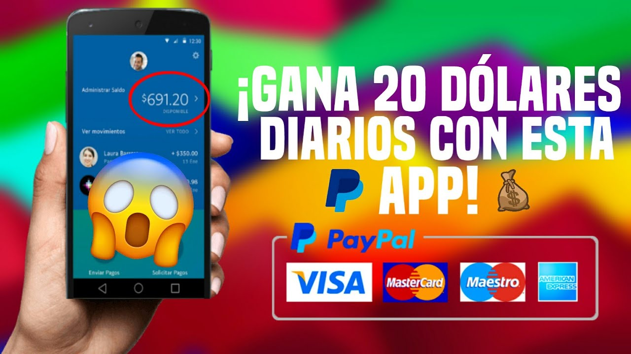 La Mejor App Para Ganar Dinero Paypal Gratis 2021 Josue Moncada Youtube