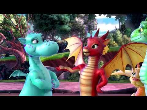 La Dragona Real De Encantia La Princesa Sofia En Español Disney Junior Dibujos Animados
