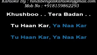 Jaadu Teri Nazar - Karaoke - Udit Narayan - Darr (1993)