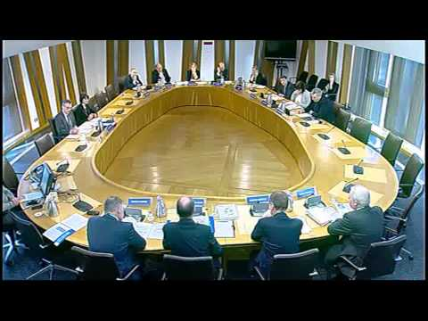 Infrastructure and Capital Investment Committee - Scottish Parliament: 20th November 2013
