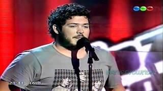 La voz Argentina / Mariano Poblete - Oh darling