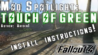 fallout 4 touch of green mod for a greener more alive wasteland fo4 mod spotlight