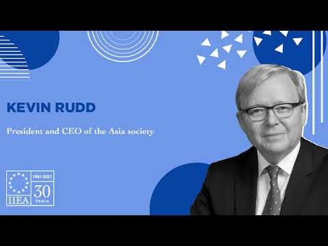 Former Prime Minister of Australia, Kevin Rudd: The Rise of China as a Global Geopolitical Power
