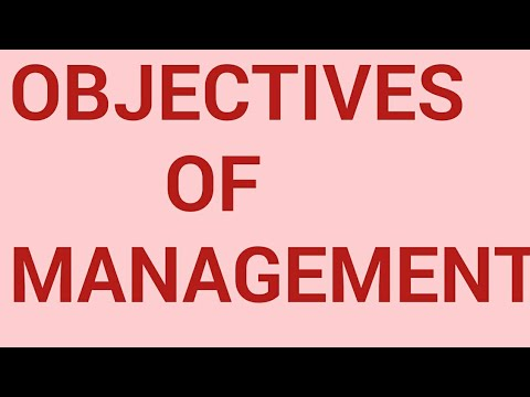 Class 12th business studies / objectives of management /organizational /social/personal objectives.