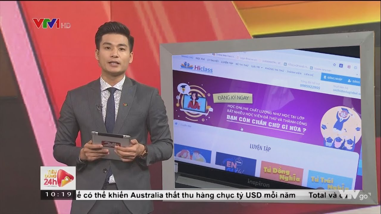 [VTV1] Ôn Luyện Tiếng Anh THPTQG Online Trên Hiclass.vn