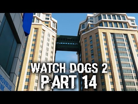 Watch Dogs 2 Gameplay Walkthrough Part 14 - ENTERING THE FBI BUILDING (Full Game)