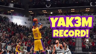 NBA 2K20 Mobile My Career Ep 43 - 3 Point Only Challenge! New Record!!