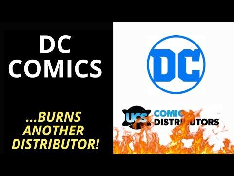 DC Comics 'Burns' Another Comic Book Distributor!