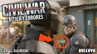 Errores De Pel�culas Civil War Capit�n Am�rica 3 Review Cr�tica Pqc Wtf
