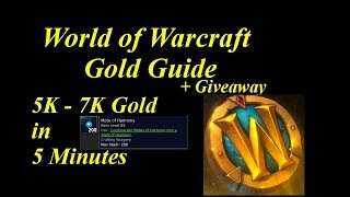 WoW Gold Farm // 5K - 7K Gold in 5 Minutes!