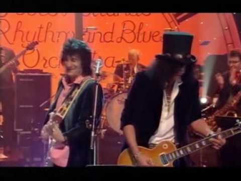 rolling stones – 2001 12 31 – ron wood, slash, jools holland – little queenie