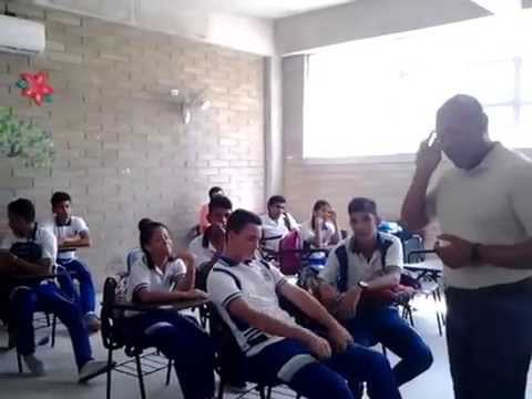 Lecture to High Schools students in Barranquilla, Colombia