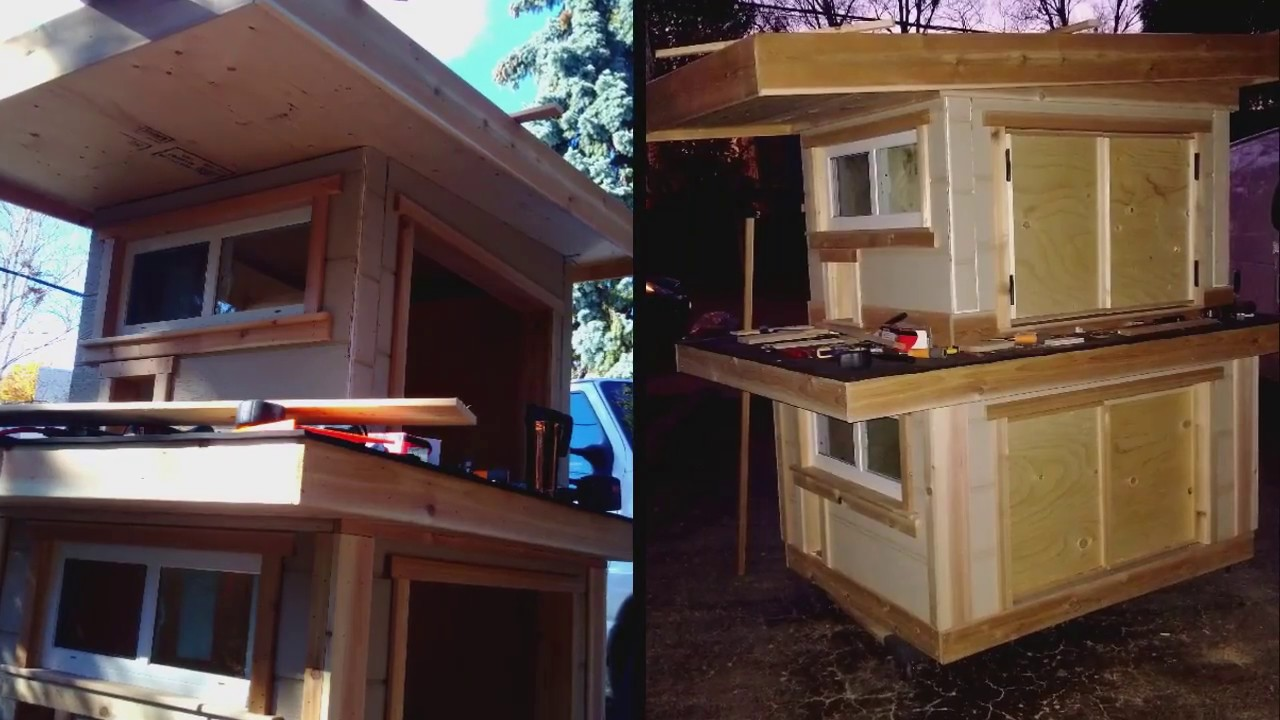 Diy outside cat house