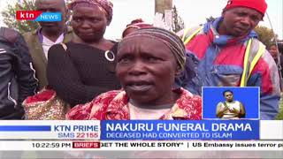 NAKURU FUNERAL DRAMA: Mourners clash over which religion should bury deceased