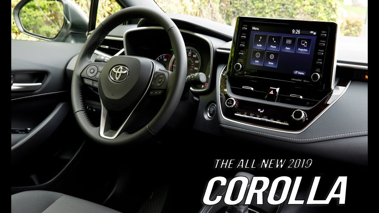 2019 Toyota Corolla Hatchback Xse Se Interior And Exterior Youtube
