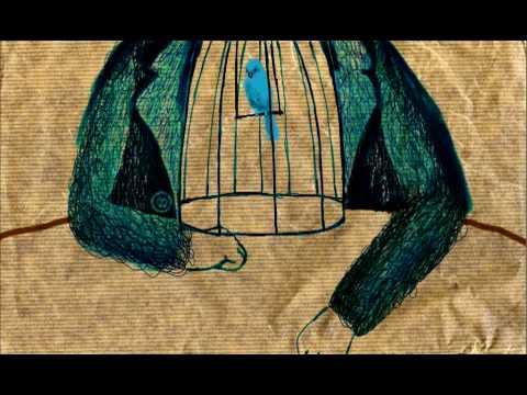 Bluebird animation based on Charles Bukowski's poem