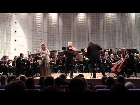 Vladimír Bukač, Ludmila Peterkova, Max Bruch. op 88 Double concerto, 1st mov.