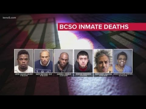 Six Bexar County inmate deaths in eight months