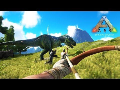 ARK: Survival Evolved - DINOSAUR ISLAND HUNTERS!!! (ARK: Survival Evolved Gameplay)