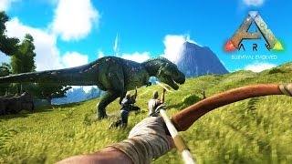 ARK: Survival Evolved - DINOSAUR ISLAND HUNTERS!!! (ARK: Survival Evolved Gameplay)